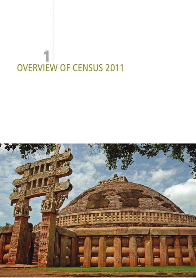 1OVERVIEW OF CENSUS 2011                          PROVISIONAL POPLUATION TOTALS  1
