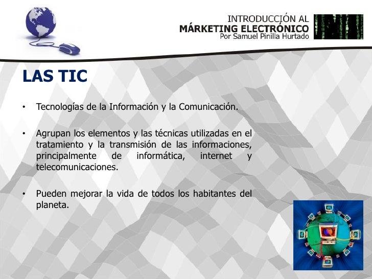 Introducción al Márketing Electrónico Slide 3