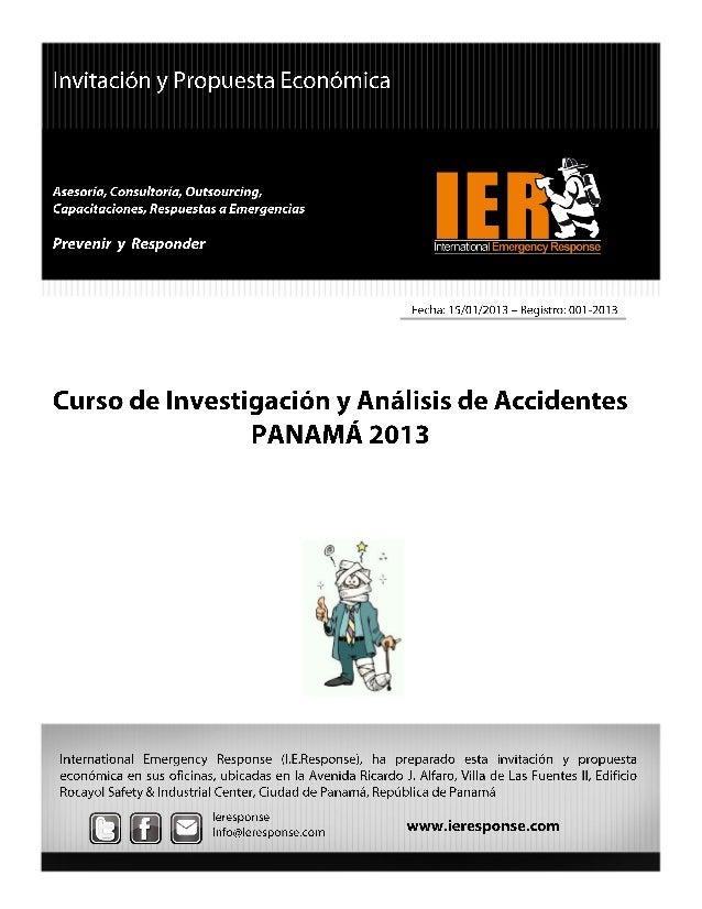 02 investigación y análisis de accidentes panamá 2013