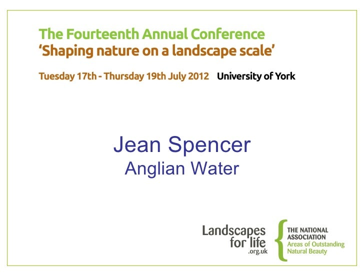 Jean Spencer Anglian Water