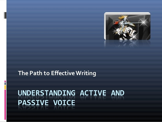 The Path to EffectiveWriting