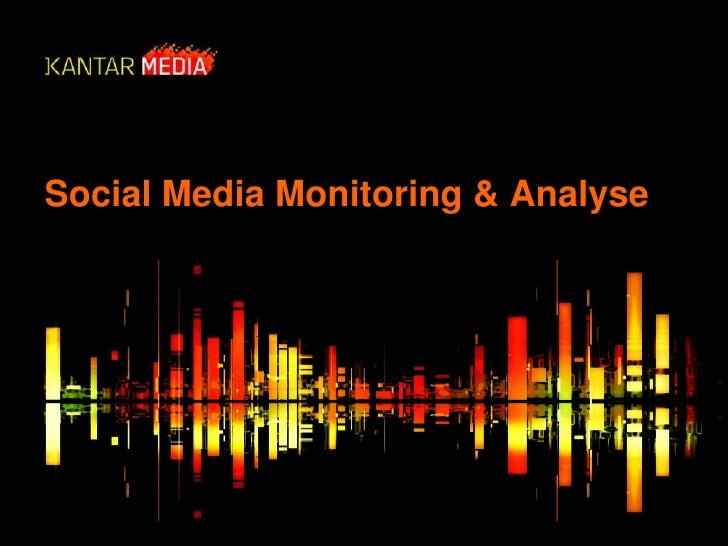 Social Media Monitoring & Analyse