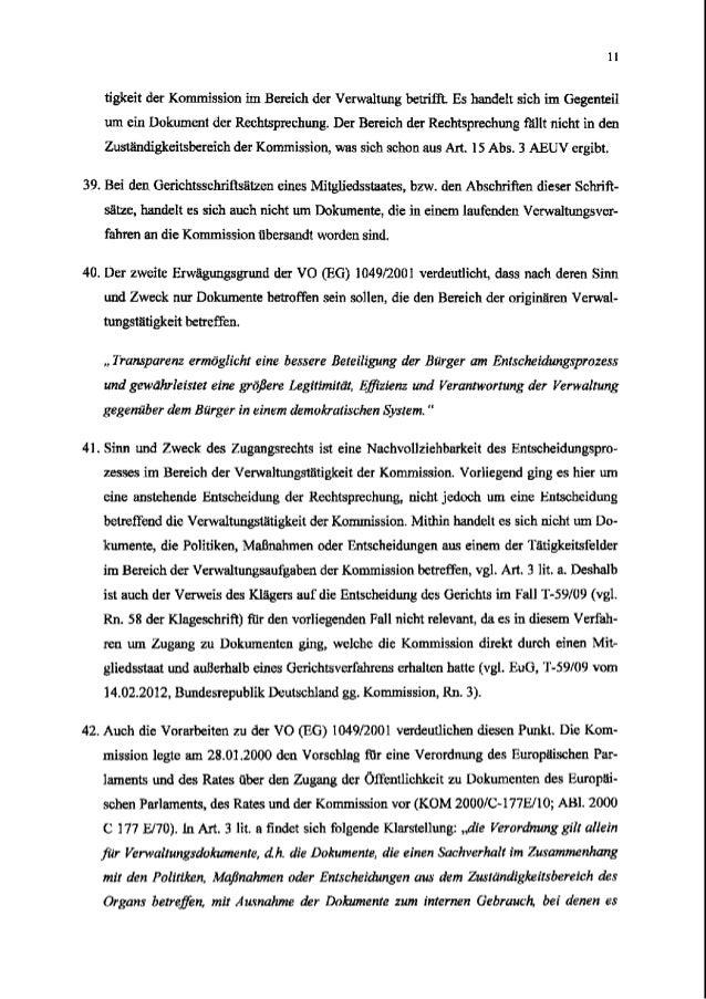 tigkeit der Kommission im Bereich der Verwaltung betriIR Es handelt sich im Gegenteil um ein Dokument der Rechtsprechung. ...