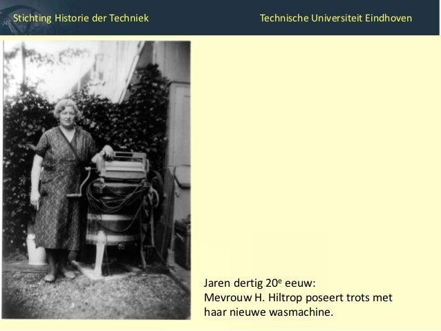 Stichting Historie der Techniek                   Technische Universiteit Eindhoven        2007: Mark Graham met zijn nieu...