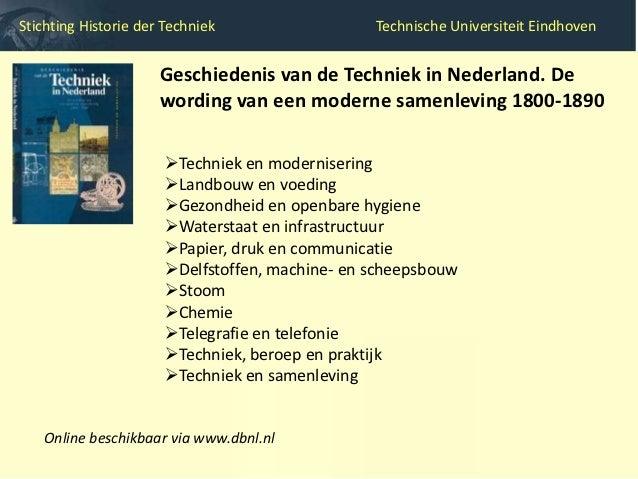 Stichting Historie der Techniek                     Technische Universiteit Eindhoven                                  Tec...