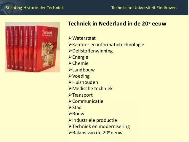 Stichting Historie der Techniek                     Technische Universiteit Eindhoven                                  Mak...