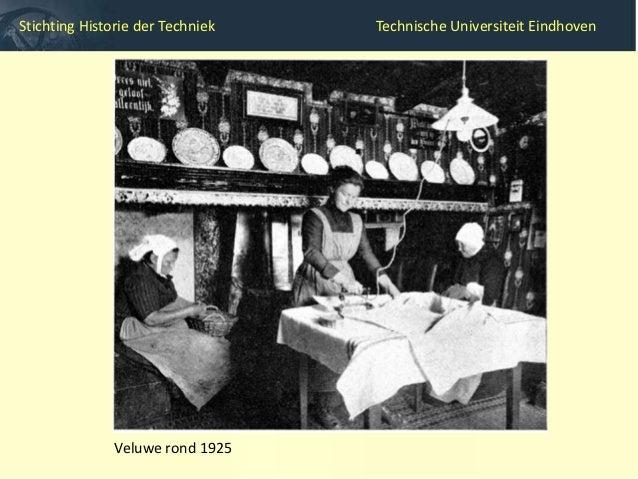 Stichting Historie der Techniek             Technische Universiteit Eindhoven       Opkomst elektrisch strijkijzer (jaren ...