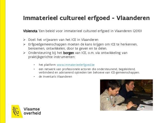 4. Beheer Collectie Vlaamse Gemeenschap  een collectie van een 18.000-tal kunstwerken, waarvan 8.000 eigendom Vlaamse ove...