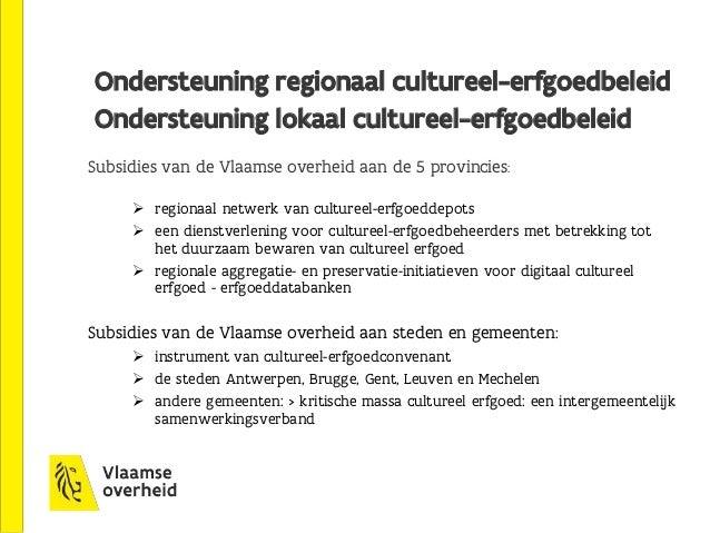 Eén steunpunt voor cultureel erfgoed: FARO Kernwoorden:  dienstverlenend  intermediair landelijk / internationaal  onde...