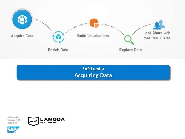 SAP Lumira Acquiring Data