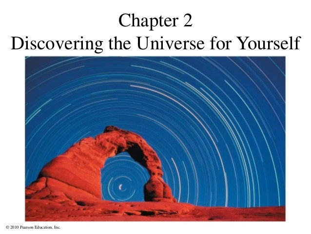 © 2010 Pearson Education, Inc. Chapter 2 Discovering the Universe for Yourself