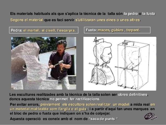 Segons el material que es faci servir s'utilitzaran unes eines o unes altres. Els materials habituals als que s'aplica la ...