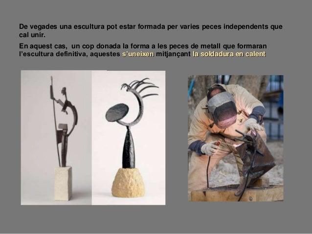 5.- ASSEMBLATGE Tècnica escultòrica que consisteixi en unir peces, objectes o fragments d'elements ja existents per crear ...