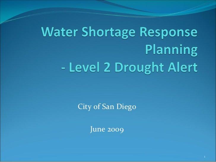 CityofSanDiego     June2009                        1
