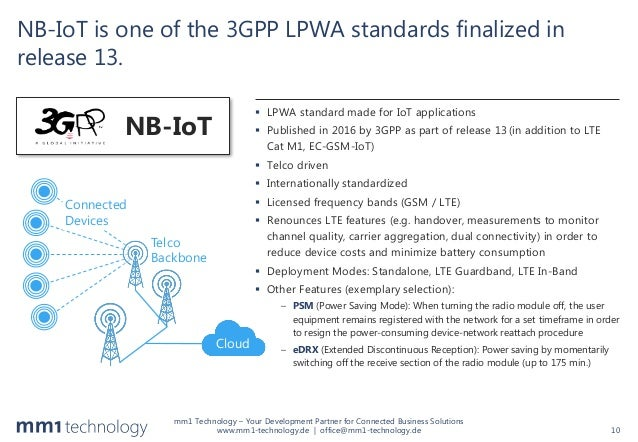 NB-IoT: Pros and Cons of the new LPWA Radio Technology