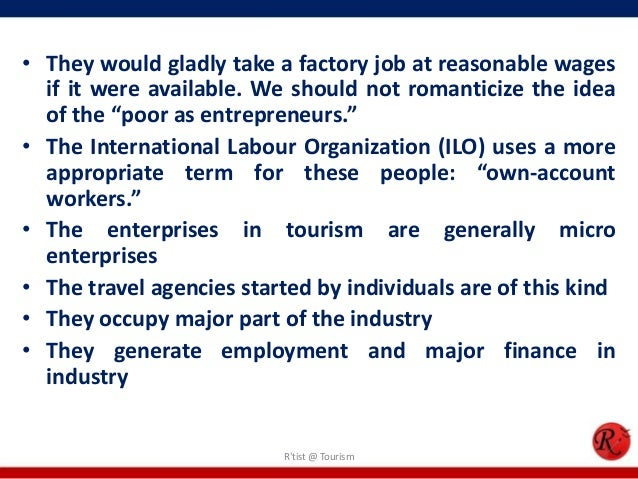 microeconomic and tourism In economic terms tourism is seen as a form of trade and focuses on how society and individuals distribute their  microeconomics in tourism.