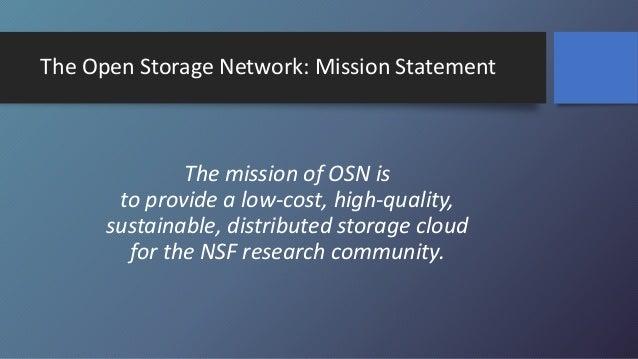 Globus: Enabling the Open Storage Network Slide 2