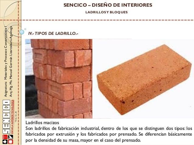 02 mp construc i clase 02 ppt pdf - Ladrillo macizo dimensiones ...