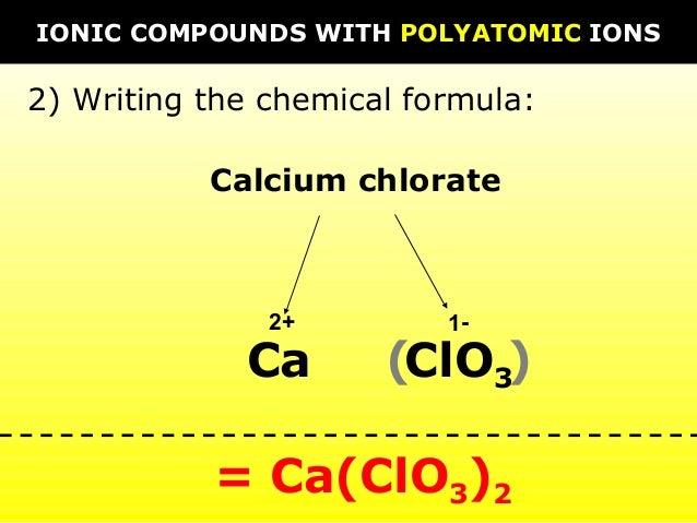 02 naming and formula writing