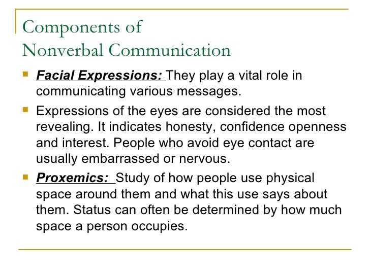 communication verbal non verbal aspects How to control the non-verbal messages you send and read the cues you're receiving.