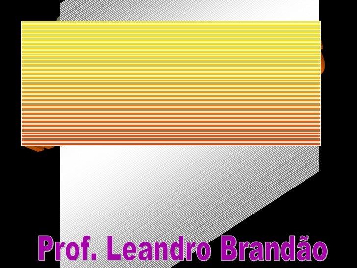 Prof. Leandro Brandão