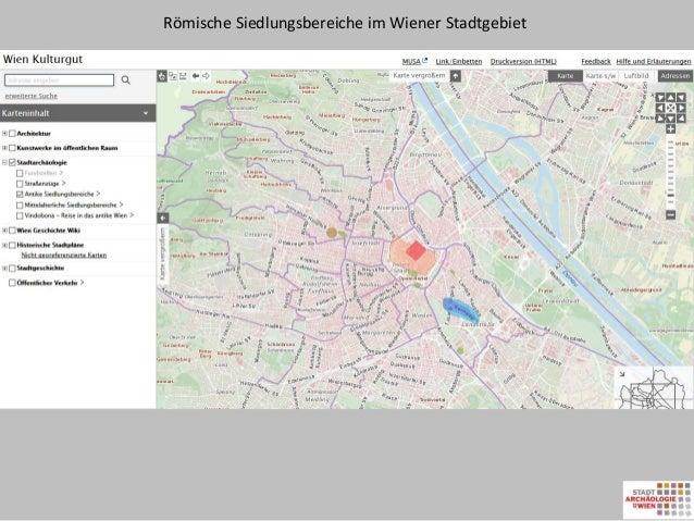 Open Government Data Legionslager Stadtarchäologie Wien