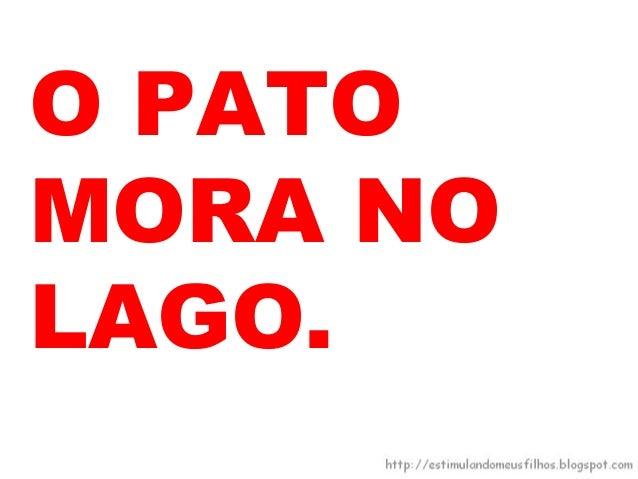 O PATONADA. ELERECITA: