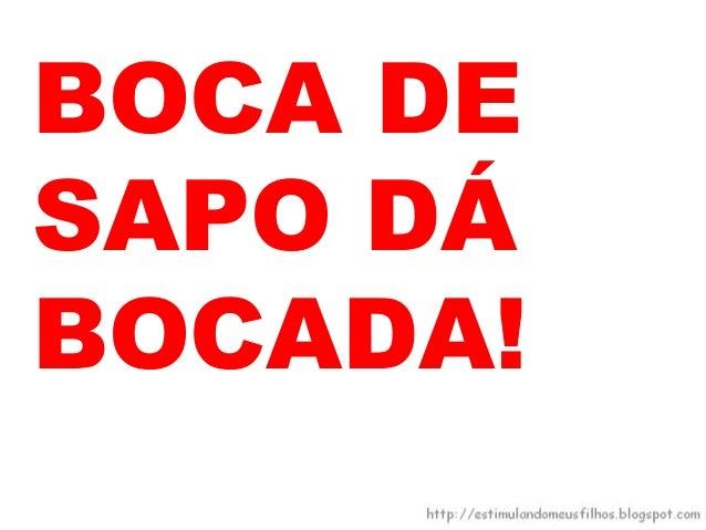 O SAPOMUDA DEPAPO:
