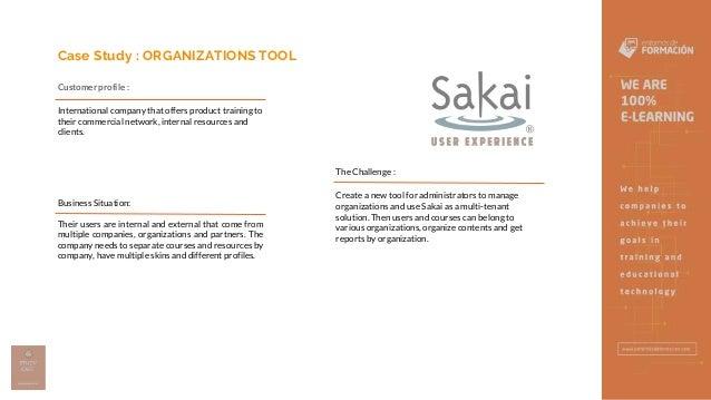 Organizations Tool - Entornos de Formación Slide 2