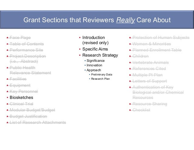 A Tactical Approach to Writing Your Grant Application by
