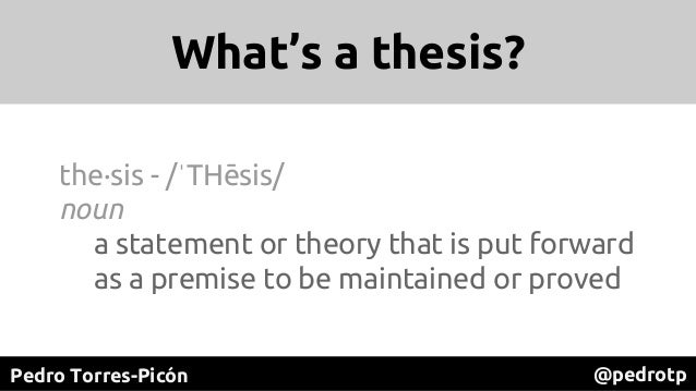 """[PREMONEY MIAMI] Quotidian Ventures >> Pedro Torres-Picón, """"How To : Build an Investment Thesis"""" Slide 3"""