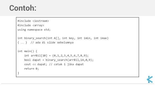 pengertian binary search
