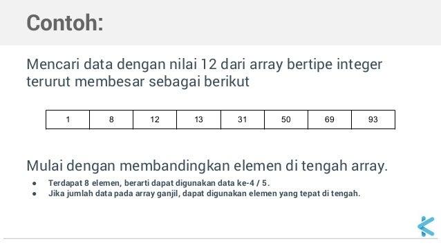 pengertian binary search c