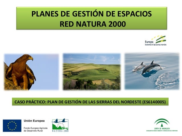 Planes de gesti n de espacios red natura 2000 caso - Gestion de espacios ...