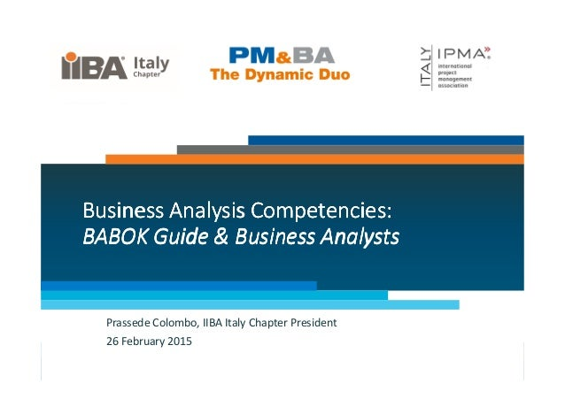 Business Analysis Competencies:Business Analysis Competencies:Business Analysis Competencies:Business Analysis Competencie...