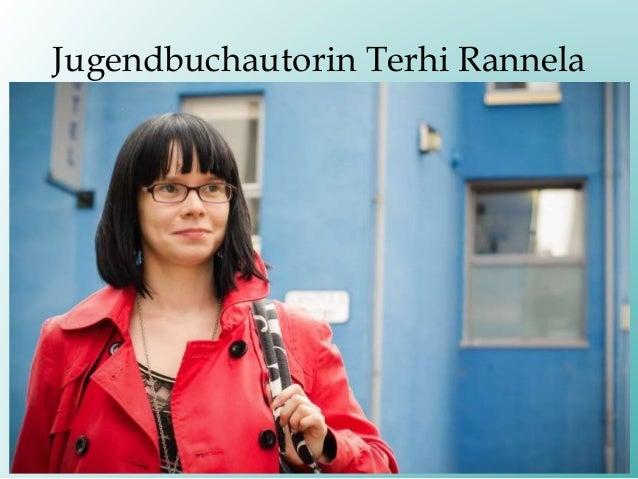 Jugendbuchautorin Terhi Rannela