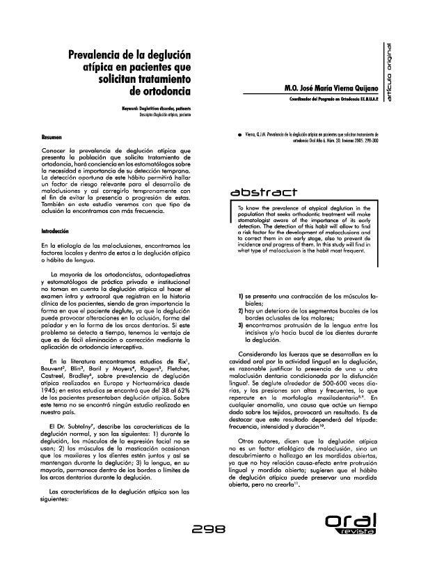 02 prevalencia de la deglucion atipica en pacientes que solicitan tratamiento de ortodoncia