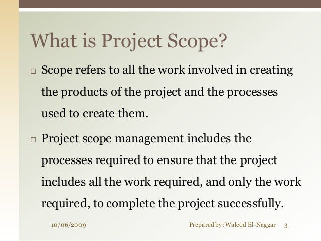 02 project scope management Slide 3