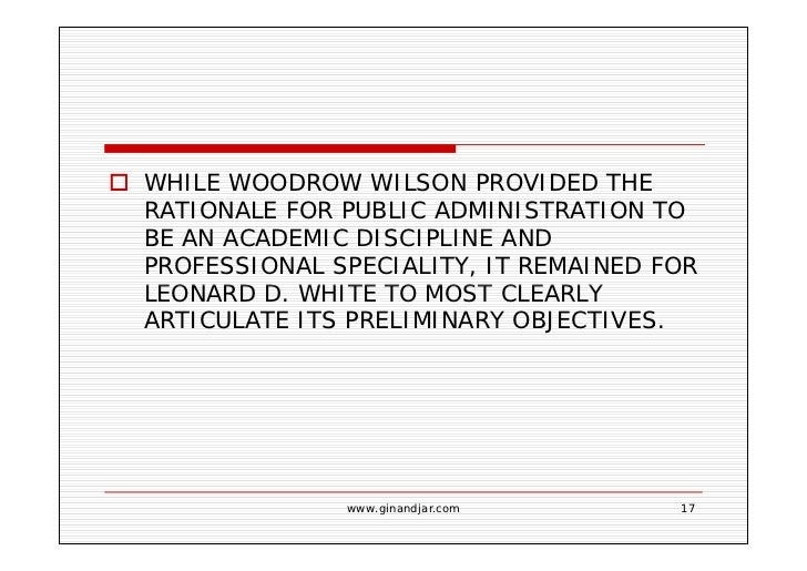 Woodrow Wilsons Politics Administration Dichotomy Administration And Politics Dichotomy Assignments For Sale also Essay On My Mother In English  Personal Essay Thesis Statement