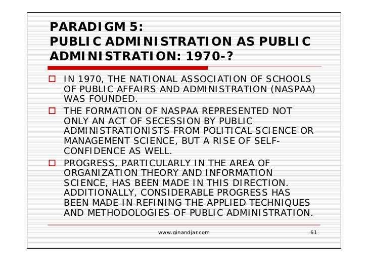 Public Administration As A Developing Discipline 61 Paradigm 5 Public  Administration  Public Administration Resume