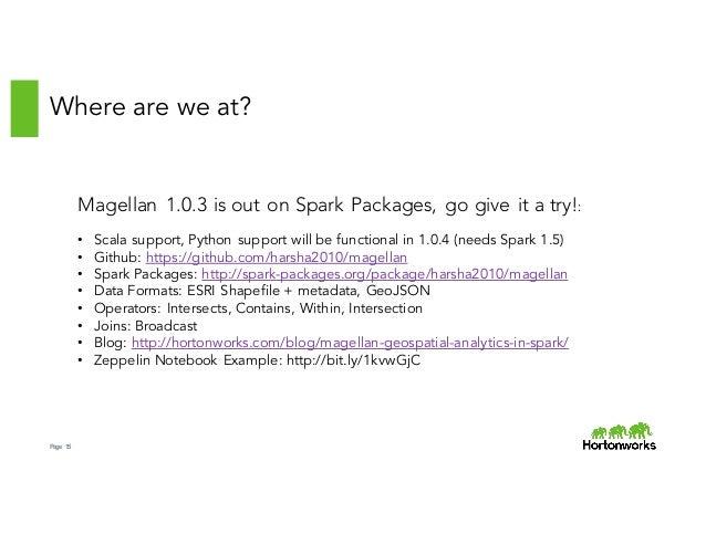 Magellen: Geospatial Analytics on Spark by Ram Sriharsha