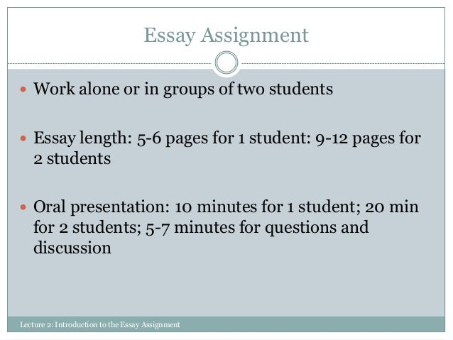 Research paper introduction help length