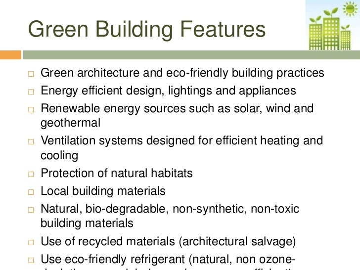 Eco house rumah abdul majid for Green building features checklist