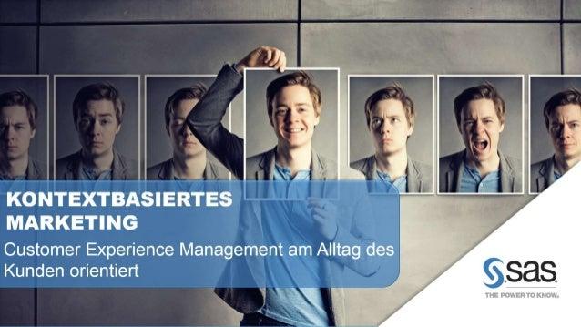 Durch kontextbasiertes Marketing sind Sie als Anbieter in der Lage, Ihren Kunden im Echtzeitdialog relevante, bedarfsgerec...
