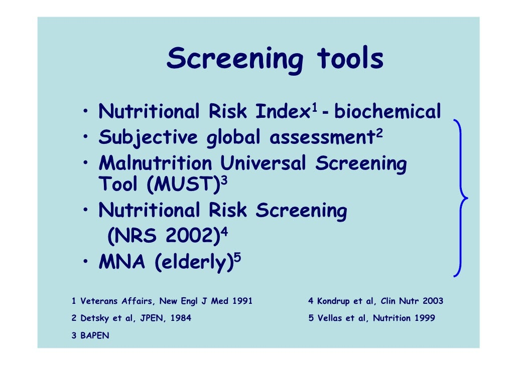 malnutrition universal screening tool essay 27042005 'malnutrition universal screening tool' predicts mortality and length of hospital stay in acutely ill elderly.