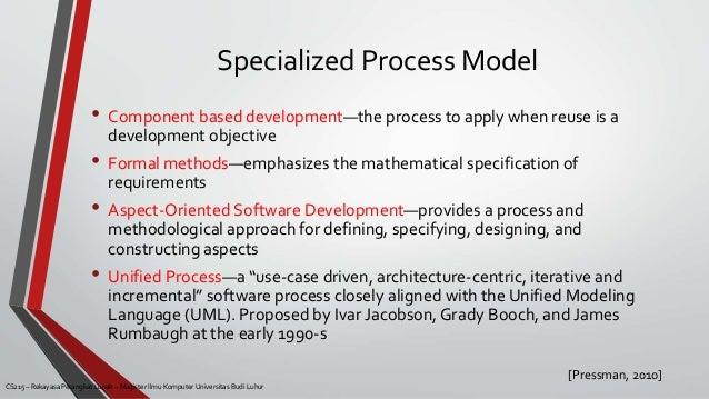advantages disadvantages 28 specialized process model - Process Modeling Ppt