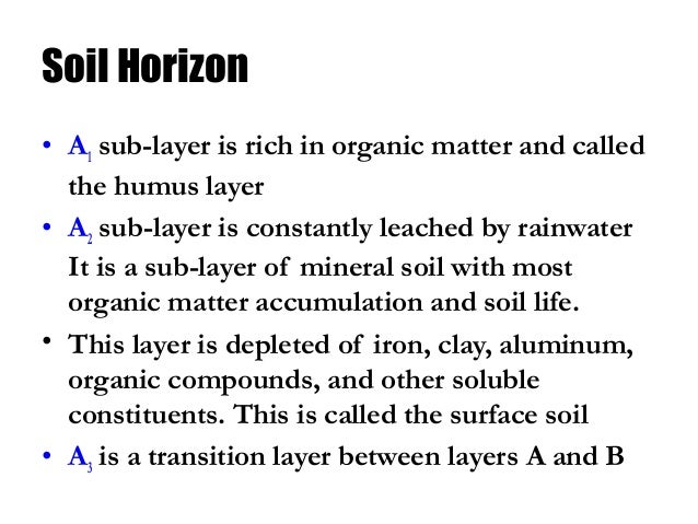 Soil class 8 science for What is rich soil called