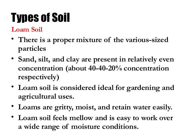 Soil class 8 science for Different types of soil and their uses