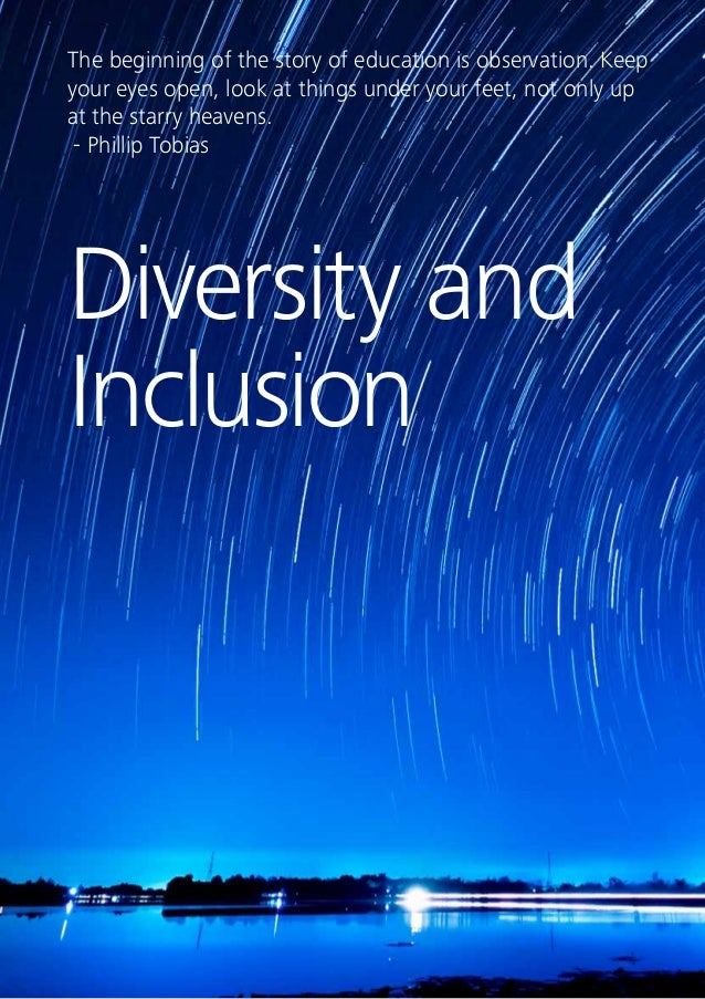 38 Diversity and Inclusion High-performing organisations are characterised by their commitment to diversity and a culture ...
