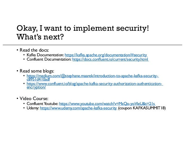Kafka Security 101 and Real-World Tips